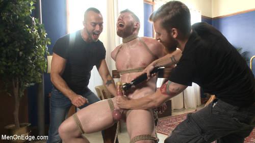 Gay men gets the most brutal bdsm treatment